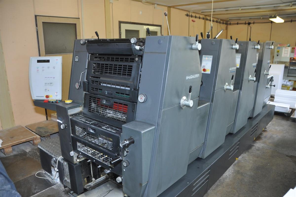 heidelberg printmaster gto 52