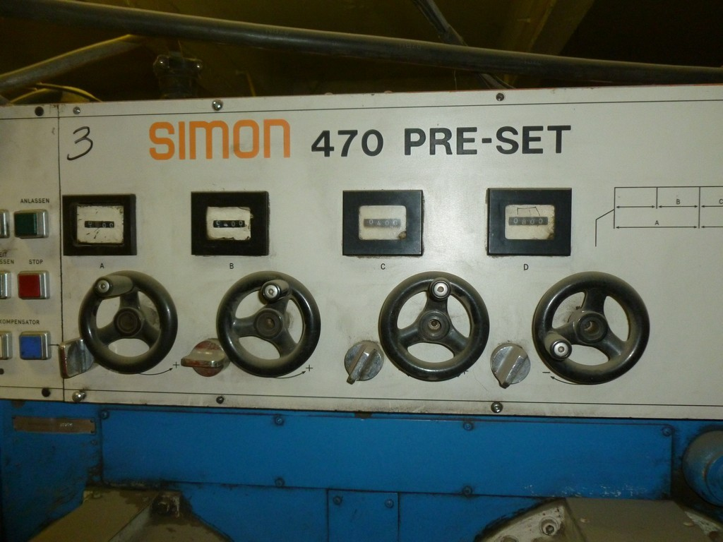 SIMON 470 PRE - SET | Machinery Europe