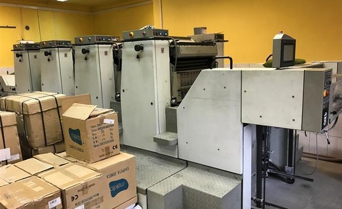 Used 4 Colour Printing Machines Machinery Europe